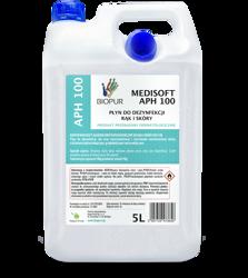 BIOPUR Medisoft APH100 Płyn do dezynfekcji rąk 5L